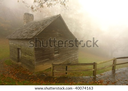 Pioneer Cabin in the Fall