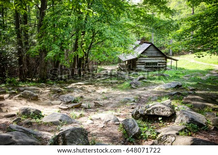 Shutterstock puzzlepix for Privately owned cabins in the smoky mountains