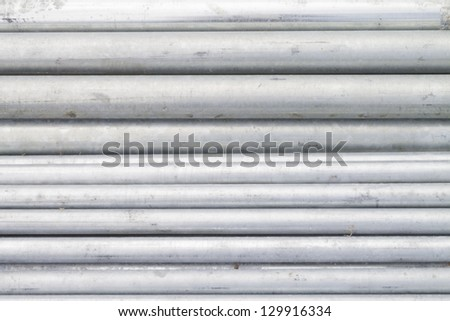 pipe metal cylinder coat galvanized texture background