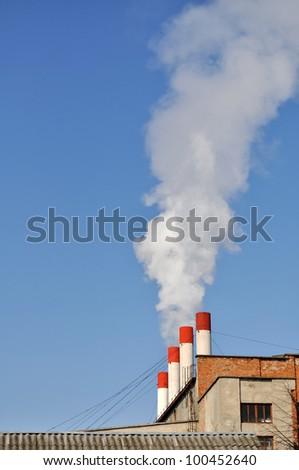 pipe that smokes