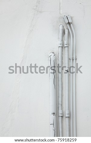 Pipe Through Wall