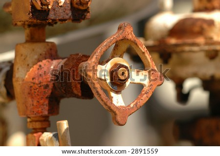 Pipe valve three