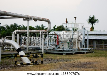 Pipeline LNG oil and gas industry #1355207576