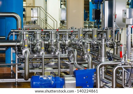 pipes and tanks for the food industry