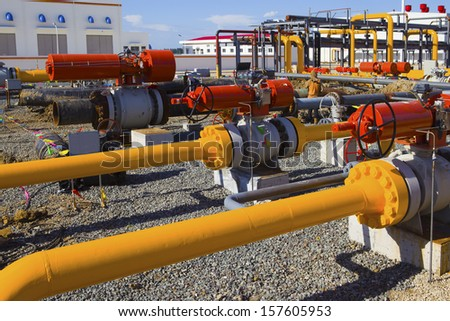 Pipes and Valves  #157605953