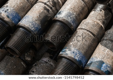 Pipes in the oil industry. Oil industry #1545798452