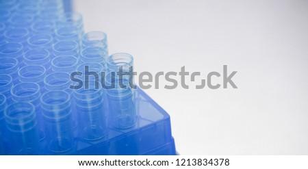 Pipette plastic tips in racks #1213834378