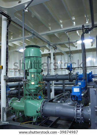 Piping system and pump.