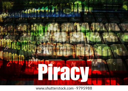 Piracy, a popular web topic for the internet