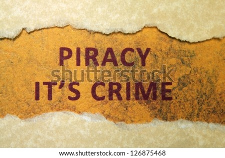 Piracy crime