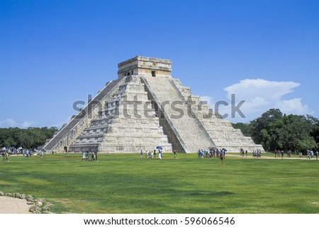 Shutterstock piramide de chichen itza