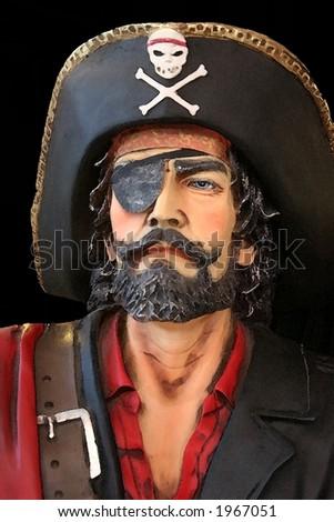 Pirate watercolor