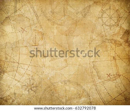 pirates treasure map background ...