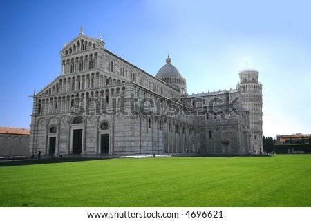 Pisa attraction monument