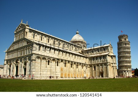 Pisa Basilica , Field of Miracle in Pisa