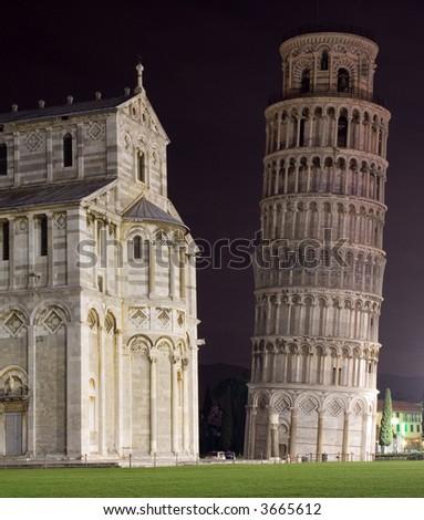 Pisa by night