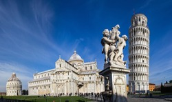 Pisa, place of miracles: the leaning tower and the cathedral baptistery