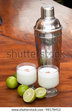 Pisco sour, peruvian cocktail