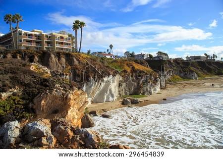Pismo beach California on a sunny afternoon Zdjęcia stock ©