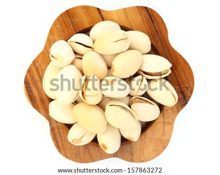 pistachio on white background #157863272