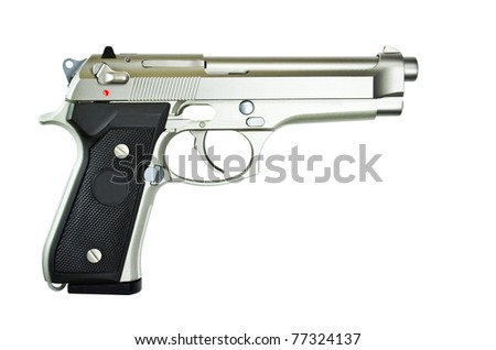Pistol for the prevention and suppression of crime