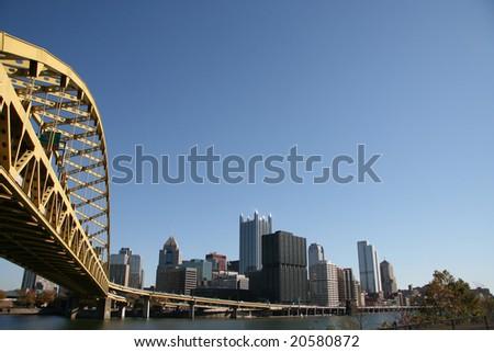 Pittsburgh's skyline from Mount Washington