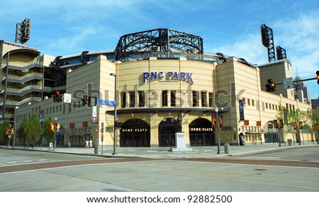 PITTSBURGH - SEPTEMBER 12: PNC Field, baseball home of the Pirates on September 12, 2001 in Pittsburgh, Pennsylvania. Opened in 2001, PNC seats 38,362 and cost $216 million.