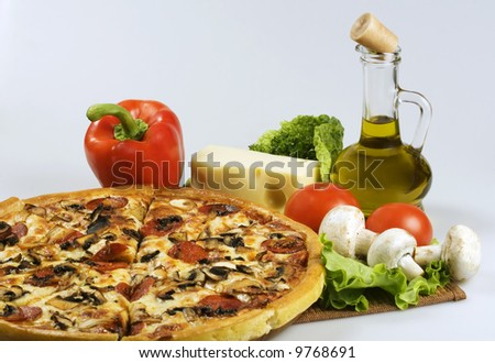 pizza and italian kitchen.