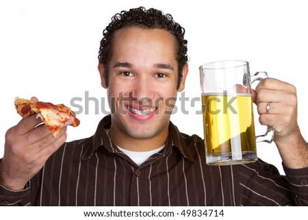 Pizza Beer Man