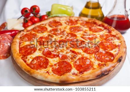 Pizza Diavola Salamy