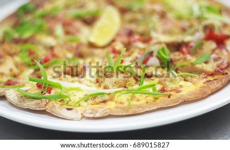 Pizza Hawaiin Homemade