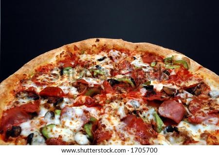 Pizza com tudo