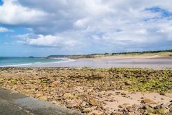 Pléhérel beach, Anse du Croc at Cap Fréhel in the Côtes d'Armor in Brittany.