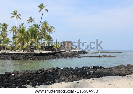 Place of Refuge on the Big Island of Hawaii