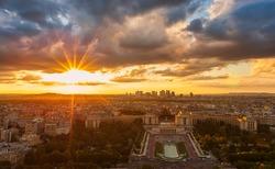 Place of Trocadero in Paris, City View, Paris, France