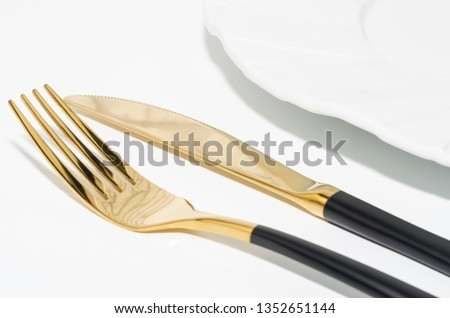 Place setting. Table setting
