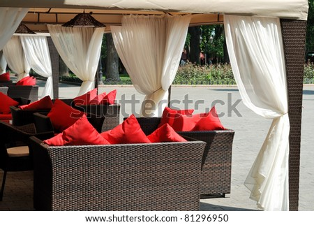 place to relax, sofas with cushions