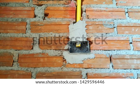 Placing pipes, wires and power outlets inside