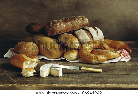 Plain bread, Sweden.