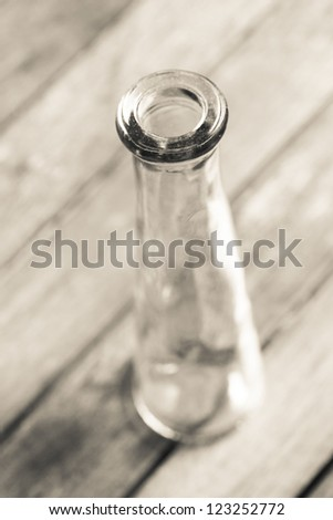 plain empty test tube