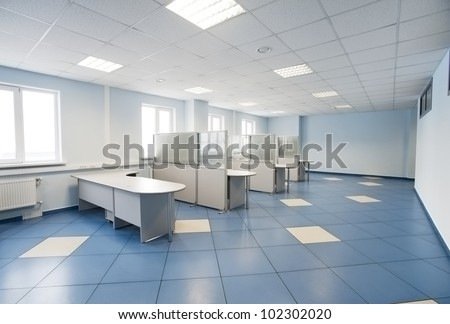 plain office space interior