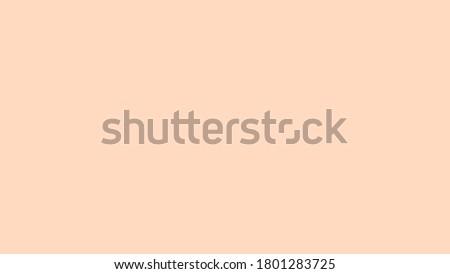 Plain Pale Orange solid color background ストックフォト ©