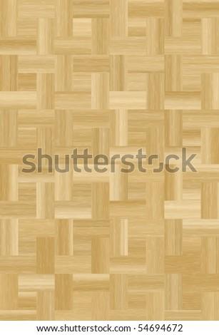 Plain wooden parquet floor background texture.