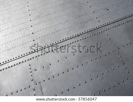 Plane - Constructional close up