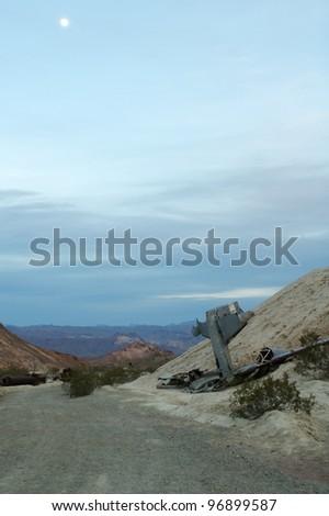 Plane Crash In The Desert