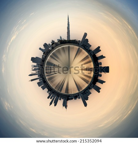 Planet Dubai #215352094