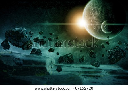 Planet earth apocalypse : meteorites attack