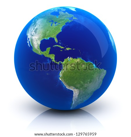 Planet Earth - Earth map provided by NASA