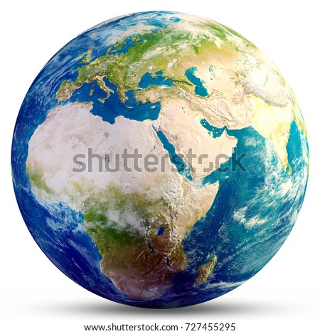 planet earth globe. elements of ...
