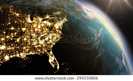 planet earth north america zone....